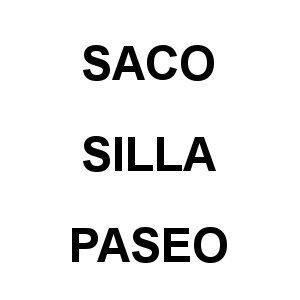Saco Silla Paseo